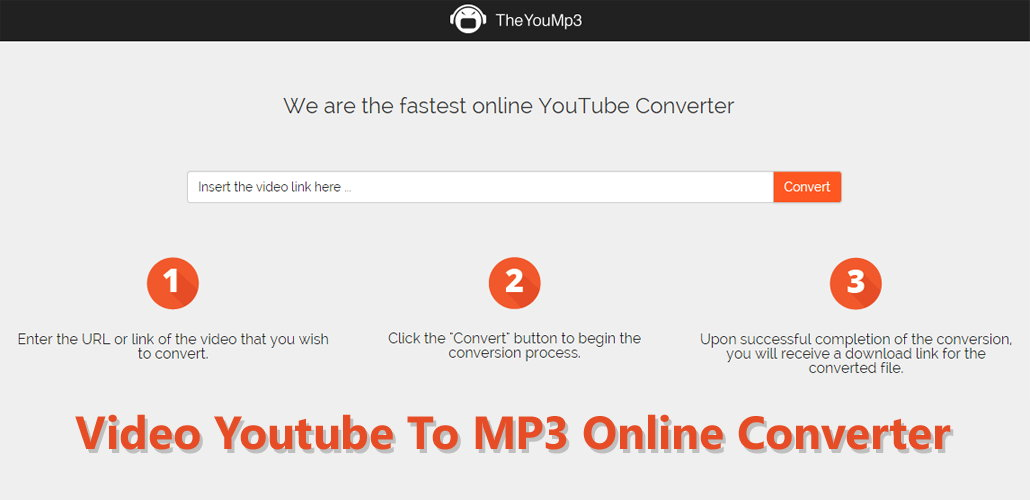 Video Youtube To MP3 Online Converter