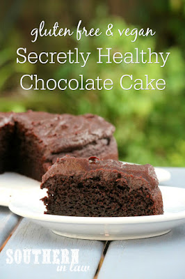 Secretly Healthy Chocolate Cake Recipe with Zucchini - gluten free, vegan, refined sugar free, dairy free, nut free, soy free, egg free, date sweetened, clean eating recipe