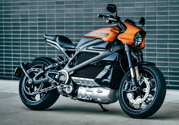 Harley-Davidson LiveWire eléctrica