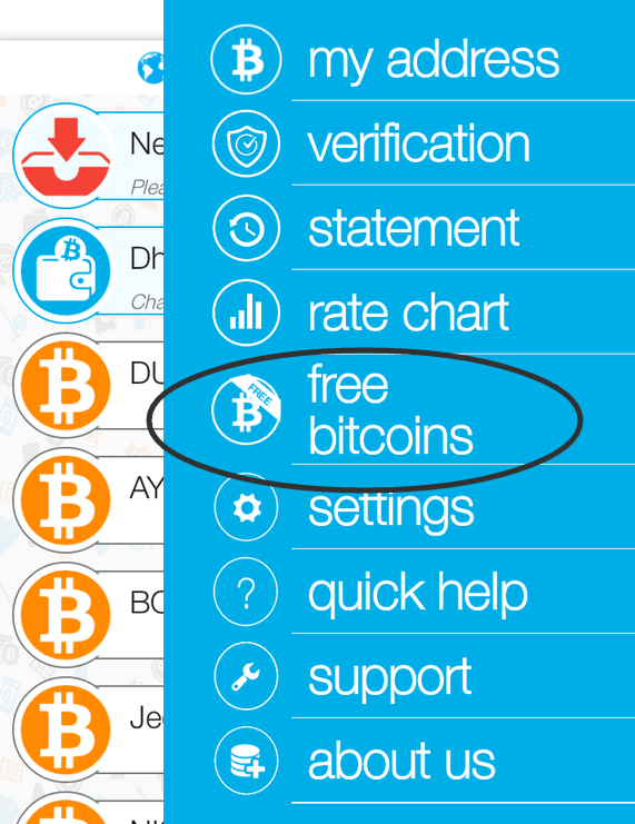 Zebpay refer and earn free 100 rs bitcoin full details proof 2 signup and verify the account with genuine identity 3 now open the app and go to the settings area 4 now click on free bitcoins as shown below ccuart Choice Image