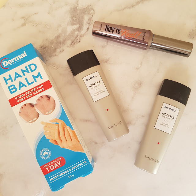 Beautorium haul, hand balm, Goldwell, Benefit They're Real mascara | Almost Posh
