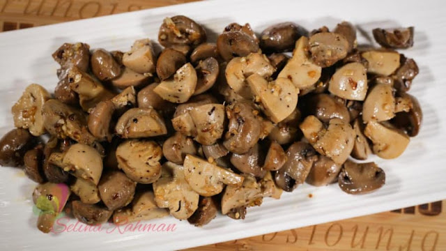 Learn-pizza-pizza-spicy-garlic-mushroom-recipes-With-video