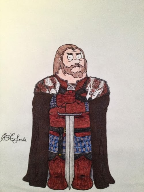 01-Seth-MacFarlane-Peter-Griffin-Sean-Bean-Eddard-Ned-Stark-timburtongameofthrone-Family-Guy-Game-of-Thrones-Mashup-www-designstack-co