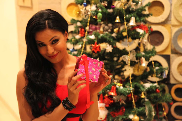 Veena Malik Christmas 2012 Hot