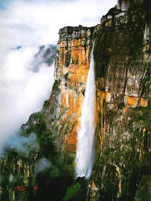 Wodospad Salto del Angel w Wenezueli