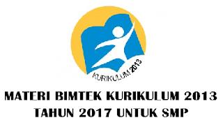 Materi BIMTEK Kurikulum 2013 SD SMP SMA SMK