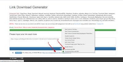 Cara mudah download dari mega ke idm