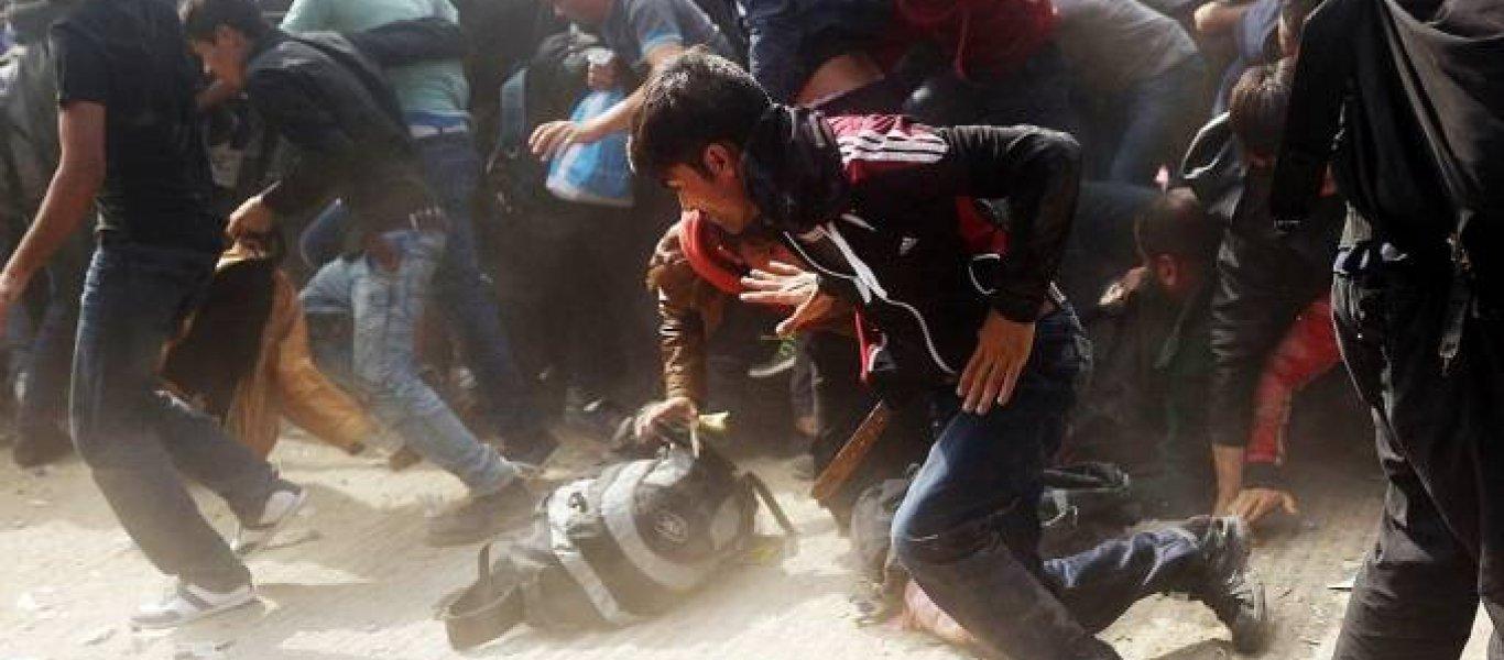 Ιωάννινα: Μάχες σώμα με σώμα μεταξύ Αφγανών και Σύρων - Άγριοι ξυλοδαρμοί και εμπρησμοί