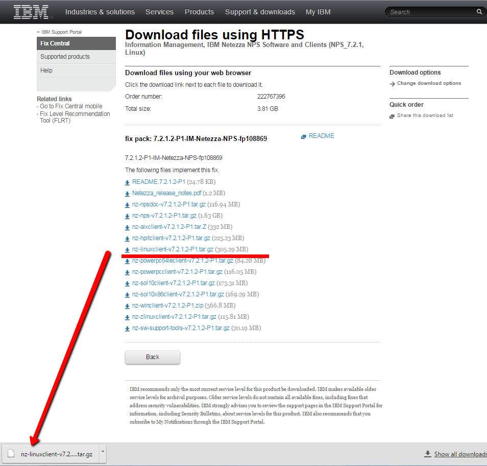 Netezza: SQL and Admin: Netezza: how to download Linux driver from