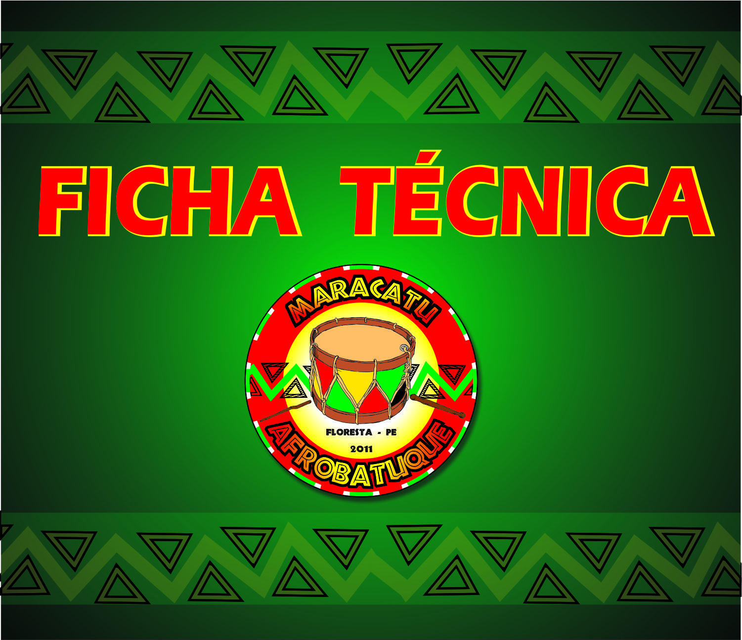 FICHA TÉCNICA DO GRUPO