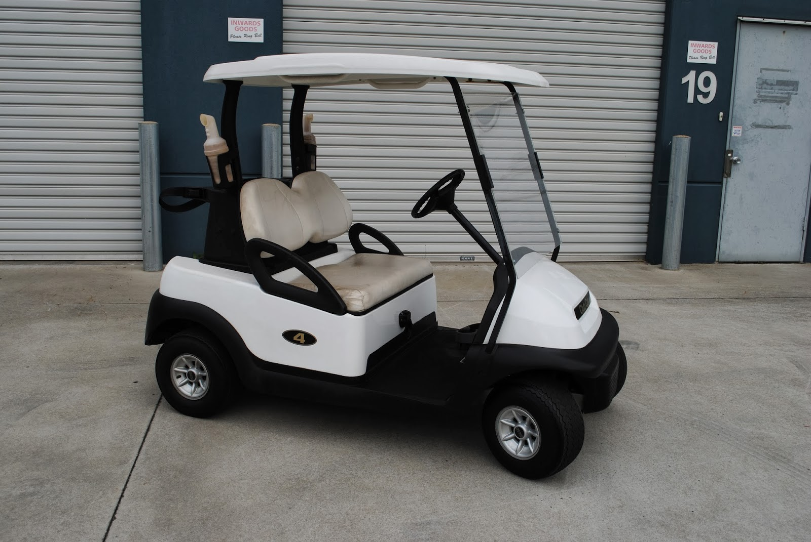 Honda Presidents Day Sale >> CHRISTIE PACIFIC MACHINERY - NEW AND USED: PRESIDENT GOLF CART NO4