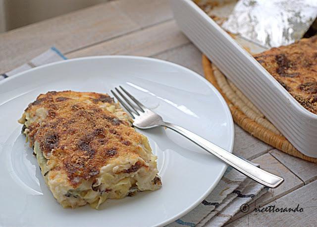 Cannelloni con biete e pollo ricetta primi piatti