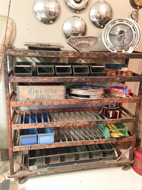 Vintage lockers, card catalogs, textiles and decor! This year's Lucketts spring market did not disappoint. - Littlehouseoffour.com