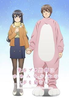 Nova Ilustração Promocional Rascal Does Not Dream of Bunny Girl Senpai