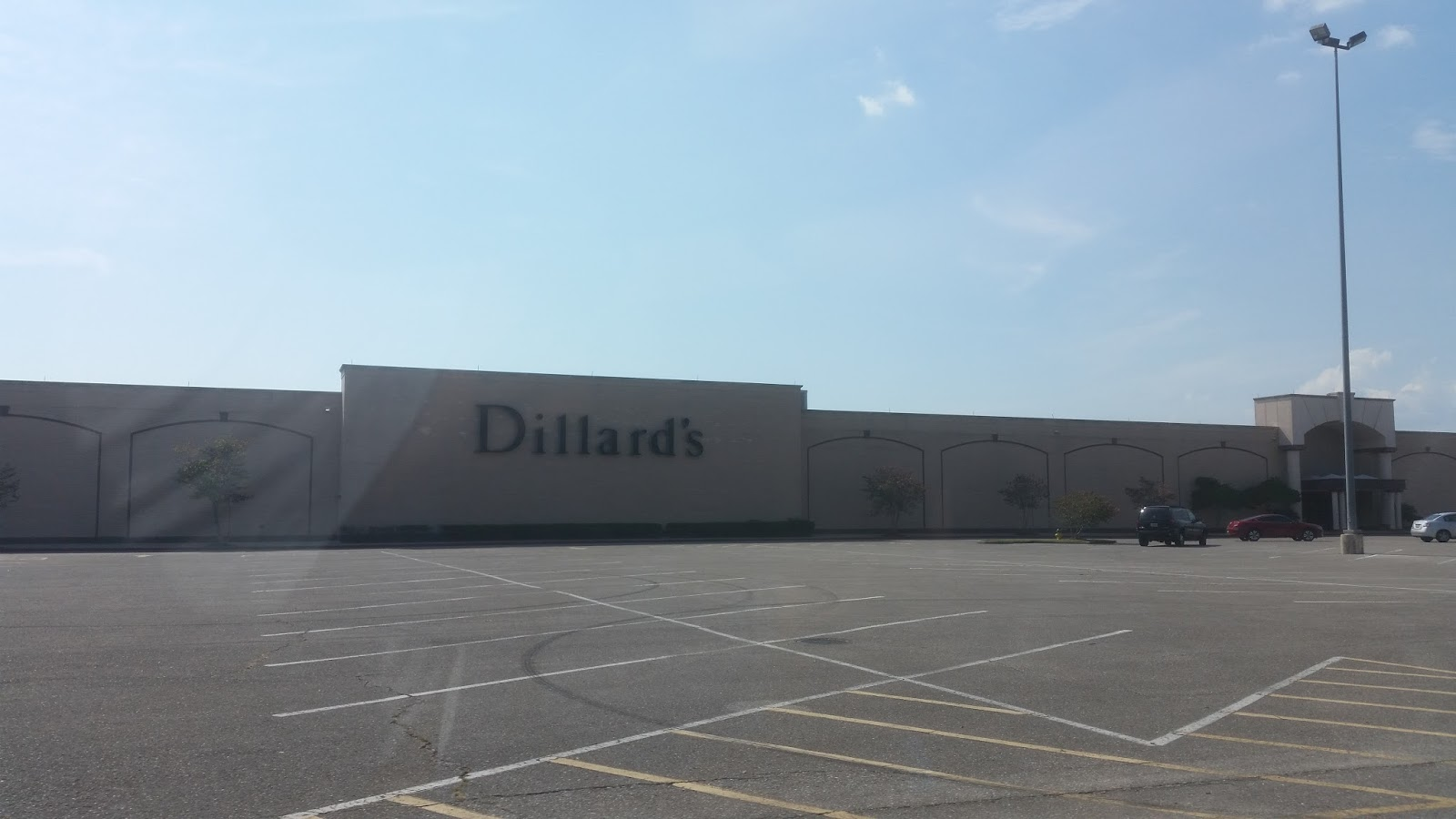 The other Dillard s store at the mall was downgraded to a clearance store  after a new Dillard s store opened a few miles away. 37fb30588