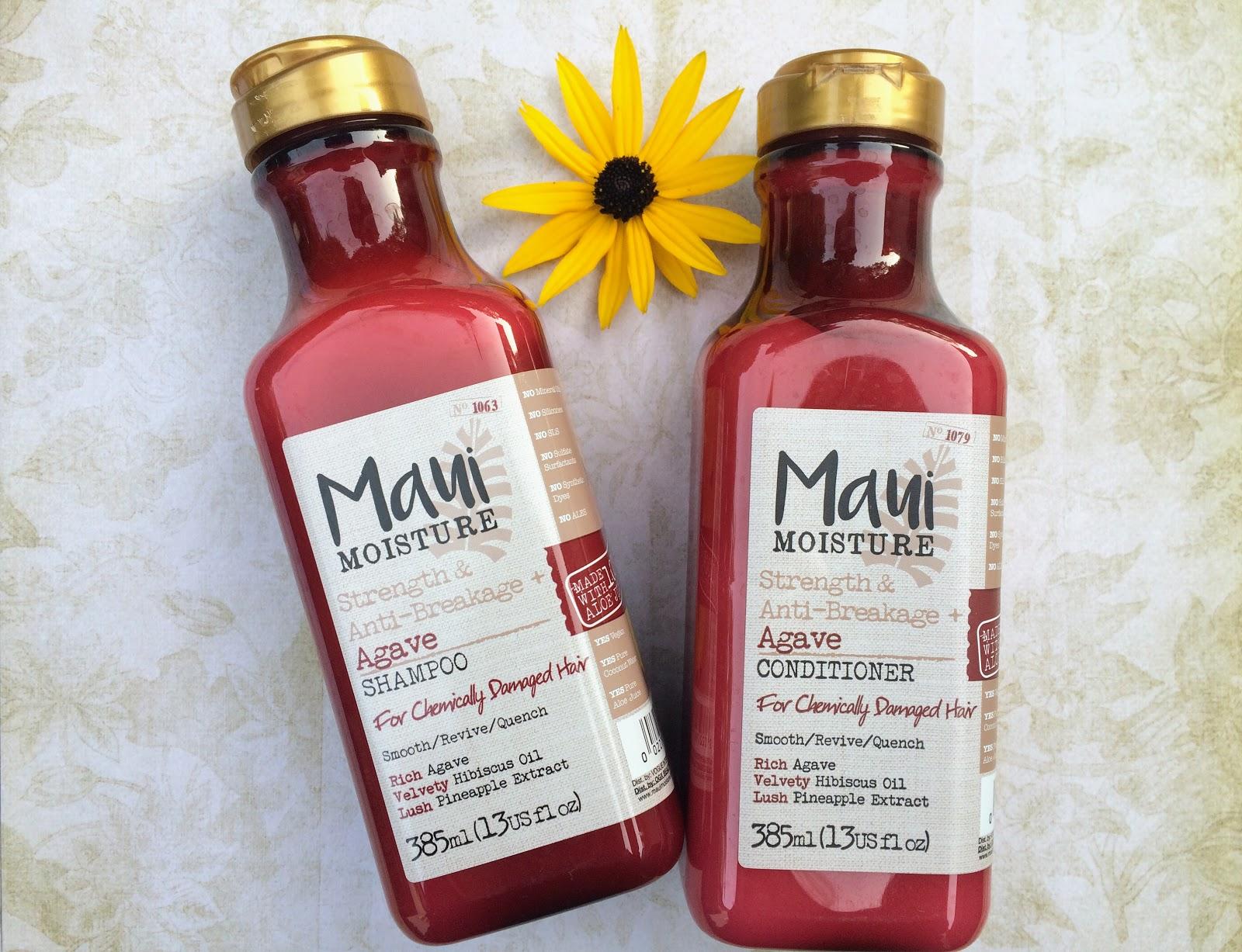 Maui shampoo and conditioner