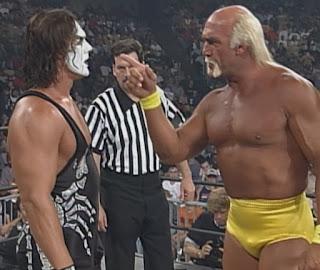 WCW Fall Brawl 1999 - Hulk Hogan defended the WCW title against Sting