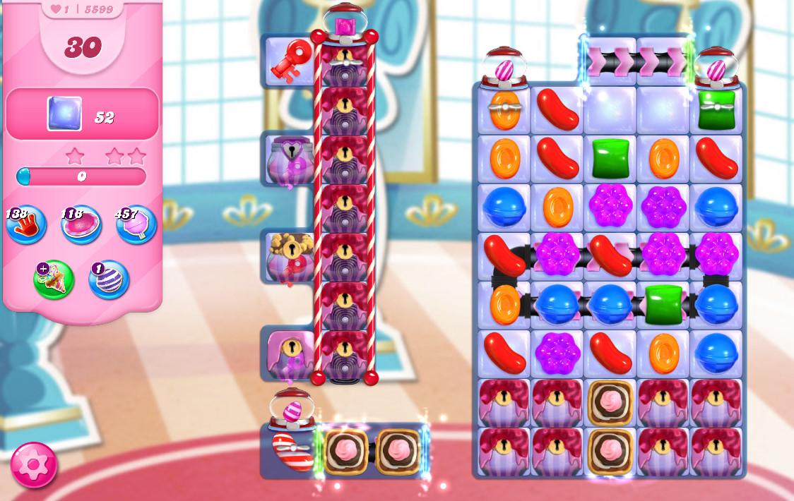 Candy Crush Saga level 5599