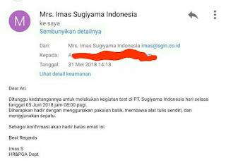 PT Sugiyama Indonesia