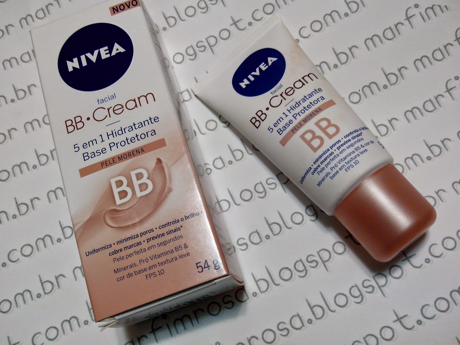 BB Cream 5 em 1 - Nivea resenha