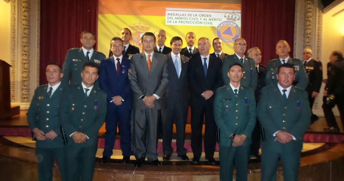 Gel n noticias el ministerio del interior condecora en for Ministerio del interior sevilla