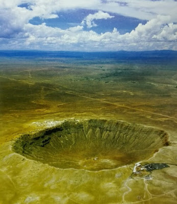 Crater Barringer en Arizona