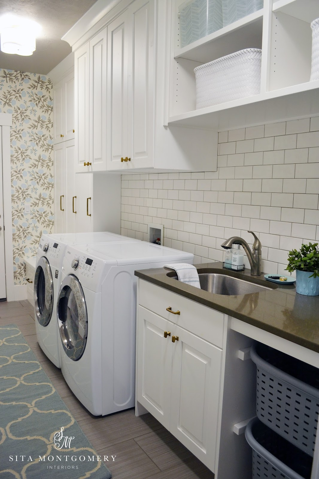 Sita Montgomery Interiors My Home Laundry Room Makeover