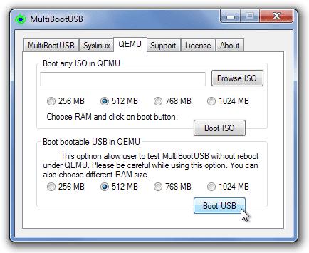 برنامج حرق اكثر من نظام على الفلاشة Multibootusb احدث اصدار