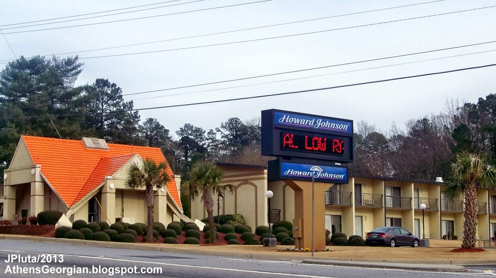 ATHENS GEORGIA Clarke UGA University GA. Hospital Restaurant Attorney Bank Fire Dept.Store ...