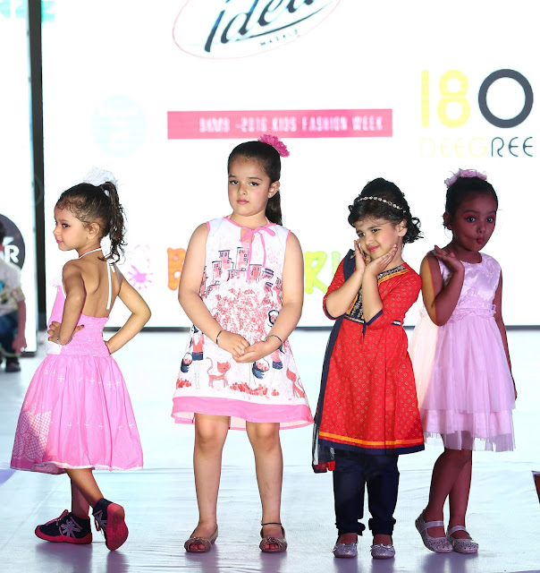 Toonz Retail India brands WOWMOM and SUPERYOUNG launched their new collection at the BKFS kids fashion show 2016