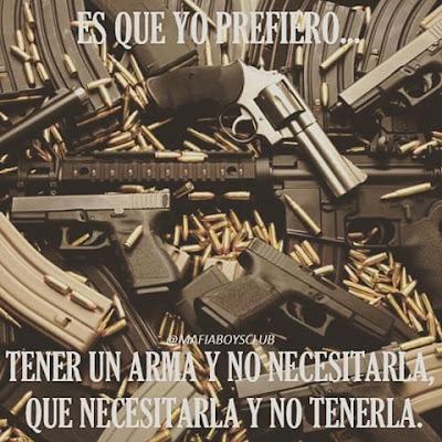 Imágenes de armas con frases para toda ocasión