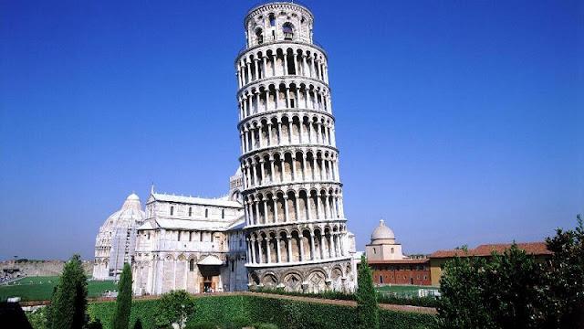 Torre de Pisa em Pisa na Toscana
