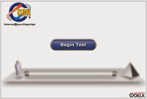 Cara Mengetahui Kecepatan Internet Dengan Speed Test CBN