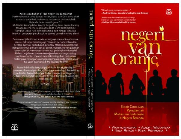 Blusukan Di Negeri Kincir Angin buku film Negeri Van Oranje