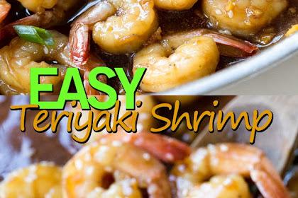 EASY TERIYAKI SHRIMP