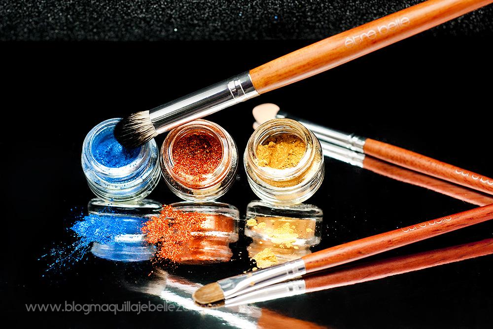 Pincel de maquillaje profesional para difuminar sombras   être belle
