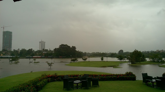floods in and around Colombo