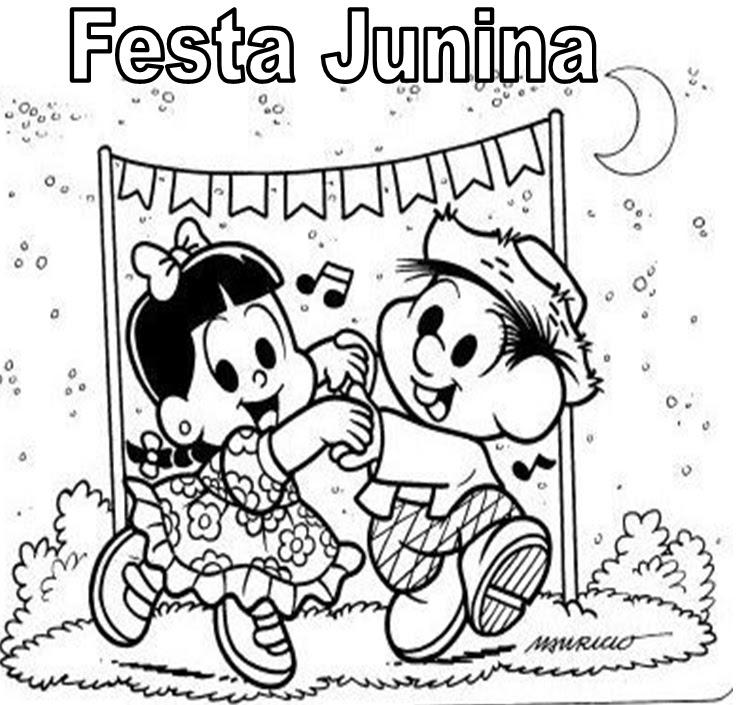 desenhos festa junina para imprimir