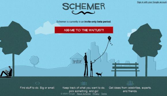 Инвайты на Google Schemer