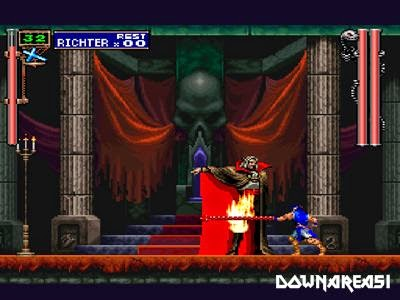Castlevania Symphony of The Night Gameplay PSX Screenshot Castlevania Symphony of The Night PS1 ISO