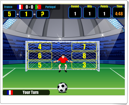 http://juegoseducativosonlinegratis.blogspot.com.es/2014/01/world-cup-math.html