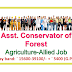Assistant Conservator of Forests-Agriculture & Allied Fresher's Job