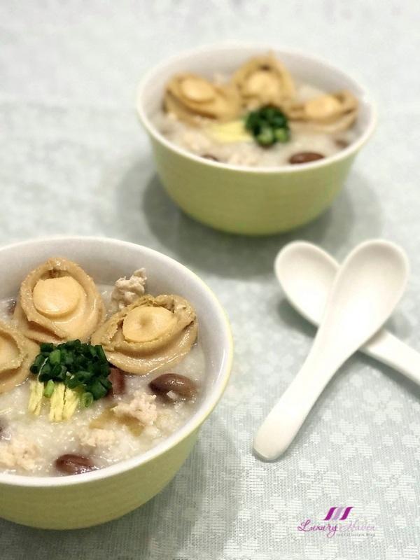 cantonese style congee recipe abalone minced pork porridge