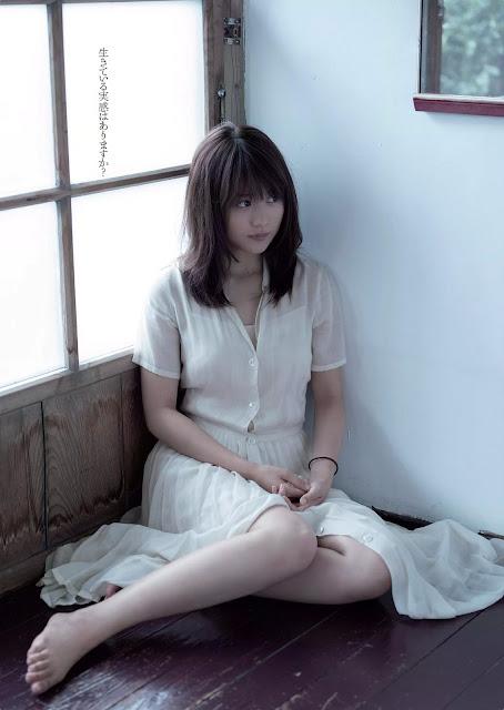Kasumi Arimura 有村架純 Weekly Playboy 2016 No 3-4 Pictures 06