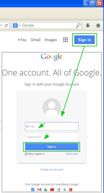 구글 제품 로그인하는 방법