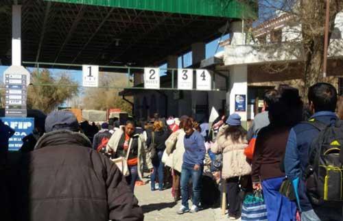En Villazón amenazan con volver al bloqueo fronterizo