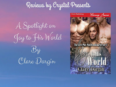 #ReleaseDay #SpotLight ~ Joy to His World By Clare Dargin ~ @claredargin