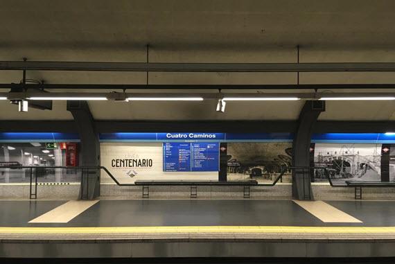Exposición Permanente Línea Centenario En Las Estaciones De La