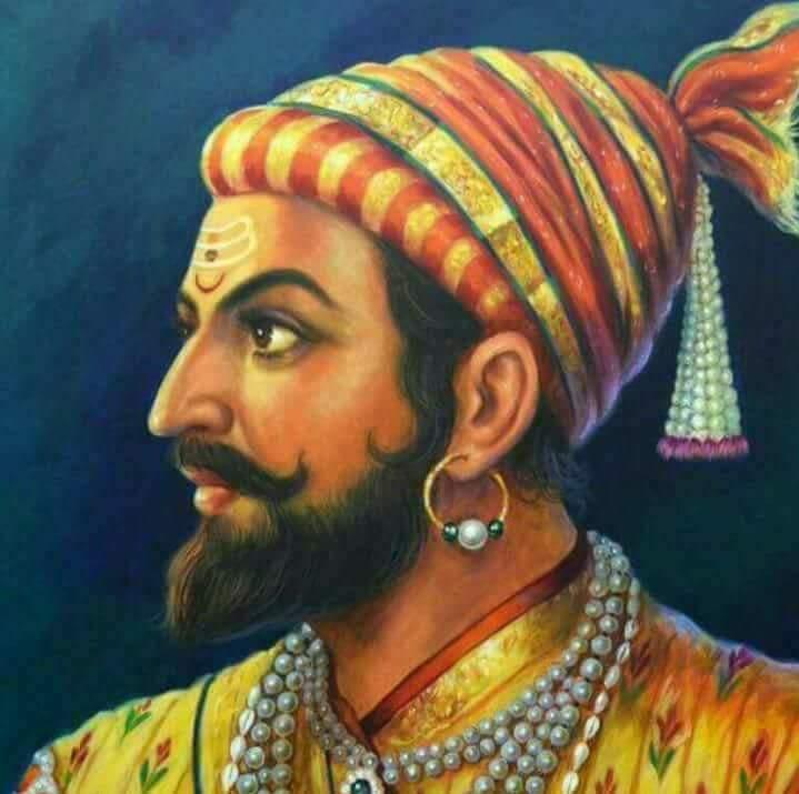 Image result for shivaji maharaj with his father shahaji