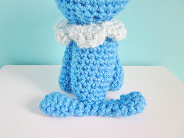 Popplio Plush Crochet Pattern